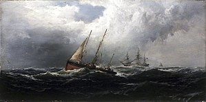Gale - Image: Brooklyn Museum After a Gale Wreckers James Hamilton overall