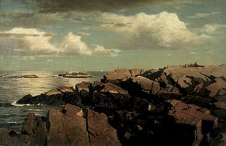 William Stanley Haseltine - Image: Brooklyn Museum After a Shower Nahant, Massachusetts William Stanley Haseltine overall