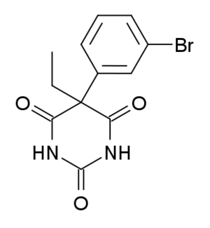 Brophebarbital - Image: Brophebarbital