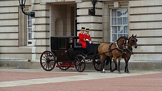 James Young (coachbuilder) - Image: Brougham carriage, Buckingham Palace, Westminster, London (3796109344)