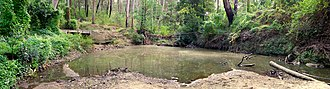 Lane Cove River - Image: Browns Waterhole Lane Cove River