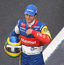 Photo de Bruno Senna en 2009