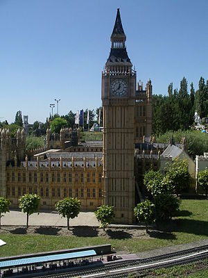 Mini-Europe - Houses of Parliament