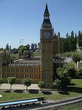 Mini-Europe - Houses of Parliament