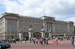 Buckingham Palace nel 2005
