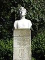 Bucuresti, Romania, Parcul Cismigiu; B-II-a-A-19655 (statuia unei educatoare)(2).JPG