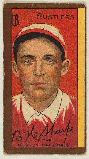 Bud Sharpe - Bud Sharpe baseball card, 1911