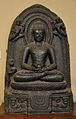 Buddha with Bowl of Honey - Circa 10th Century AD - Bihar - Indian Museum - Kolkata 2012-11-16 2032.JPG