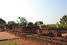 Ruins of the site