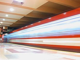 Los Incas - Parque Chas (Buenos Aires Underground) - Image: Buenos Aires Subte Los Incas 2