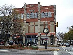 Griffin, Georgia - Building on East Solomon Street (dated 1894) in Griffin