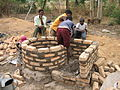 Building of a spiral brick VIP in Chisungu (5567264499).jpg