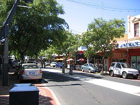 La grand rue de Bunbury
