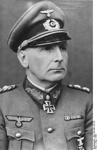 Willibald von Langermann und Erlencamp - Langermann und Erlencamp in 1942