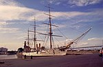Ex buque escuela y actual museo Fragata Presidente Sarmiento