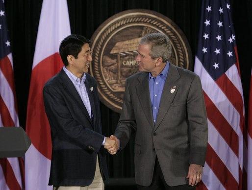 Bush Abe, Camp David