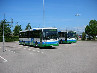 Hallandstrafiken public transport company in Halland County, Sweden