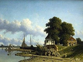 On the River Lek, near Elshout