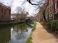 C&O (Chesapeake and Ohio) Canal in the heart of Georgetown (March 26, 2004) - panoramio.jpg