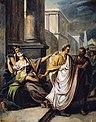César se rendant au sénat aux Ides de Mars.jpg