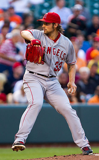 C. J. Wilson - Wilson with the Los Angeles Angels of Anaheim