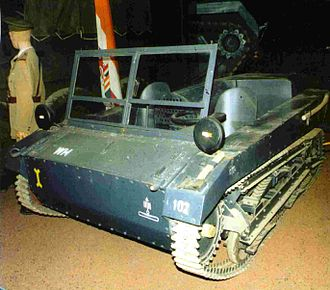 C2P - One of two surviving C2P tractors (in German camouflage)
