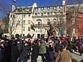 CAA-NRC protest at Mahatma Gandhi Statue Washington DC.jpg