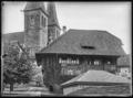 CH-NB - Luzern, Holzhaus, vue partielle extérieure - Collection Max van Berchem - EAD-6756.tif