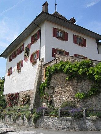 Erlach, Switzerland - Erlach Castle