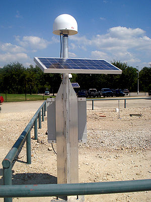 CORS Reference Station LCRH; Location: Spicewo...