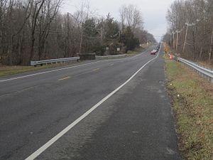 County Route 539 (New Jersey) - CR 539 northbound north of CR 537, a former section of Route 37