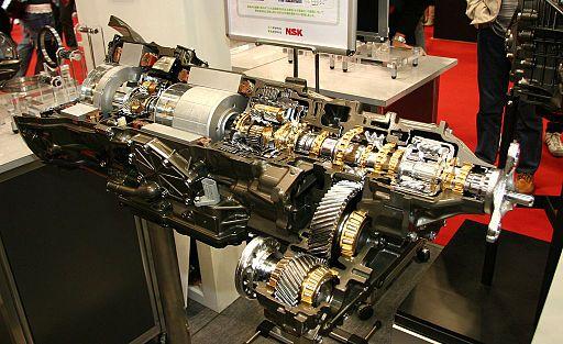 CVT for Lexus LS600h