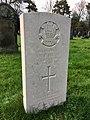 CWGC graves at Cathays Cemetery, December 2020 05.jpg