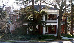 Thomas Cadmus - Cadmus House from the northwest