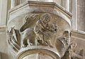Caen église St Pierre homme au lion.JPG