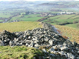Owen Glendower (novel) - Caer Drewyn, Corwen, locally known as Mynydd-y-Gaer, the hill fort where Powys completed Owen Glendower on 24 December 1939. This is where, in the novel, Glendower dies