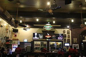 Mario Miranda - Image: Cafe Mondegar bar with mural