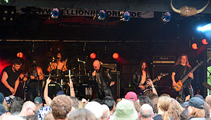 Cage (band) - Cage at Headbangers Open Air 2014