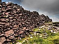 Caherconree Fort defensive wall.JPG