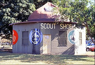 Scouting and Guiding in Queensland - Image: Cairns Control Room with Scout's Hat