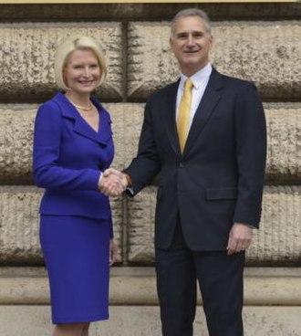Callista Gingrich - Gingrich arrived in Rome on November 6, 2017 for the Ambassadorship
