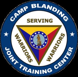 Camp Blanding - Image: Camp Blanding JTC Logo