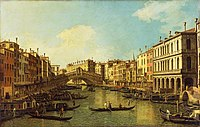 Canaletto (1697-1768) - Venice, the Grand Canal from the Palazzo Dolfin-Manin to the Rialto Bridge - P511 - The Wallace Collection.jpg