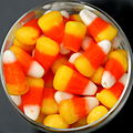 Candy corn squircle, 2006.jpg