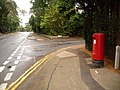 Canford Cliffs, postbox No. BH13 311, Western Road - geograph.org.uk - 1427529.jpg