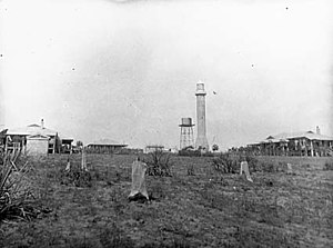 Cape Don Light - Cape Don Light on the year in which construction finished, 1917