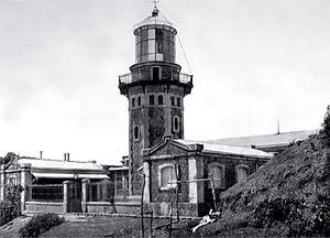Der Leuchtturm am Kap Engaño auf Palaui (1904)