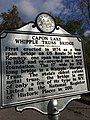 Capon Lake Whipple Truss Bridge Historical Marker Capon Lake WV 2014 10 05 05.jpg