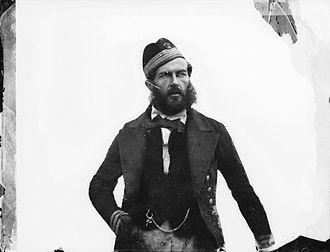 Edward Augustus Inglefield - Inglefield in 1854