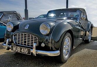 Triumph TR3 - Triumph TR3 (1955–57)
